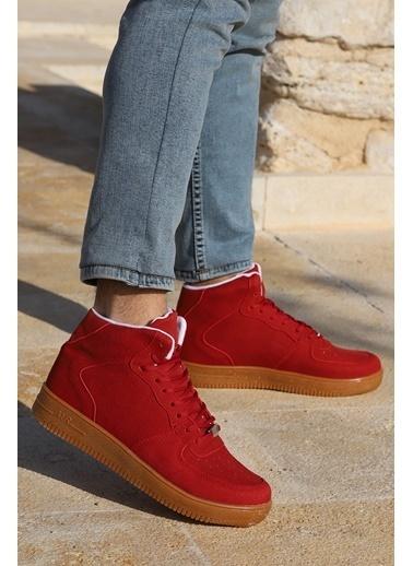 Ayakland Ayakland Nprs 30 Süet Air Günlük Erkek Spor Bot Ayakkabı Kırmızı
